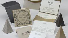 Caprice & Marvin Wedding Invitation