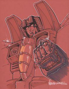 starscream by *markerguru on deviantART - Transformers Decepticon