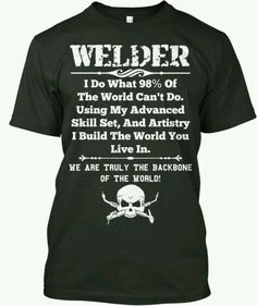 Welding whats the most popular