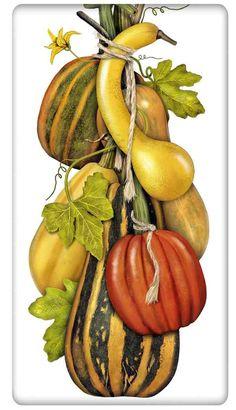 Autumn Hanging Gourds