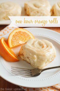 hour orange rolls One hour orange rolls - so gooey and delicious! One hour orange rolls - so gooey and delicious! Orange Cinnamon Rolls, Orange Rolls, Orange Orange, Just Desserts, Delicious Desserts, Dessert Recipes, Yummy Food, Donut Recipes, Health Desserts