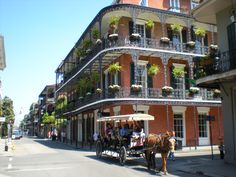 French Quarter New Orleans. Probably the most iconic picture people see the most of the French Quarter. Georgia Aquarium, Monterey Bay Aquarium, Las Vegas Strip, Death Valley, Country Music, Savannah, Places To Travel, Places To See, Travel Destinations