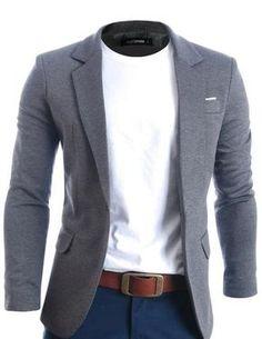 Mens Slim Fit Casual Premium Blazer Jacket (BJ102)