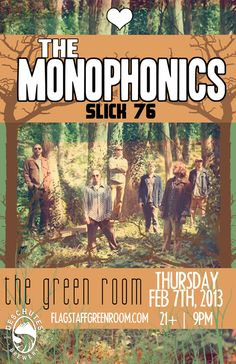 Monophonics will be funking it up at Flagstaff's Green Room for our Base Camp Week for Beer Fanatics! #funk #flagstaff