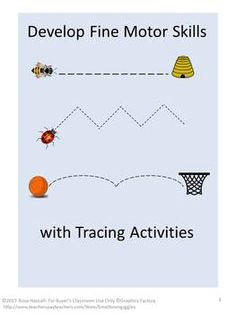 Develop Fine Motor Skill with Tracing Activities