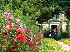 Monet's Garden in Giverny, France