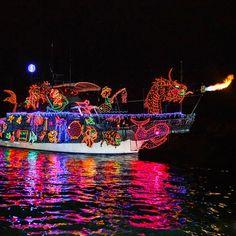ciao! newport beach: Newport Beach Christmas boat parade