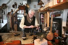 Victor Powells Workshop - custom made leather sandals that even Cardinal O'Malley couldn't resist