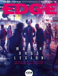Learn how Ubisoft built Watch Dogs Legion's dystopian London in the new issue of Edge magazine Gaming Magazines, Video Game Magazines, Technology Magazines, Men's Magazines, Xbox News, Male Magazine, Magazine Design, Magazine Layouts, Digital Magazine