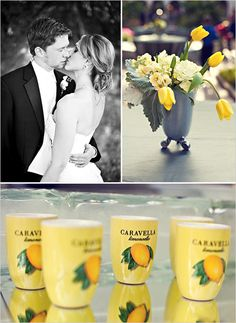 Black and Yellow Wedding  #coutureevents http://www.coutureeventssd.com