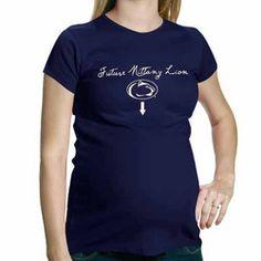 My U Penn State Nittany Lions Maternity Future Fan T-Shirt - Navy Blue  Pregnancy 5ab47d2fccf4