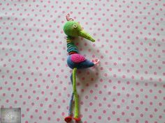 She wanted to have a colorful hanging figure with very long legs. I thought I would crochet her a rabbit. A bird. Sister Love, Long Legs, Things To Think About, Happy Birthday, Bird, Crochet, Color, Happy Brithday, Urari La Multi Ani