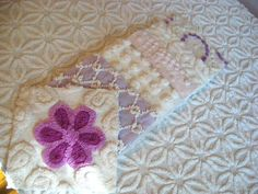 Vintage Chenille Sweet Lilac/Purple Set by swetthng on Etsy