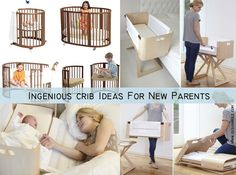 9 Ingenious Crib Ideas For New Parents