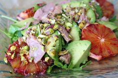 Looking for a delicious and easy Spanish salad recipe? Try my beautiful tuna belly, avocado, blood orange and pistachio salad for a healthy salad recipe. Spanish Salad, Spanish Food, Easy Spanish Recipes, Creamy Rice, Brunch, Avocado Salad, Tuna Salad, Dinner Salads, Blood Orange