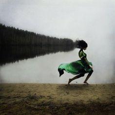 Fotografías conceptuales influenciadas por la danza. Obra de Kylli Sparre.