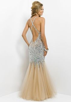 long gold prom dresses - Google Search