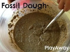 PlayAway...where children explore, discover and grow!: Dinosaur Egg Fossils