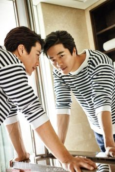 Kwon Sang Woo shows off his sophisticated look for 'Grazia' | allkpop.com