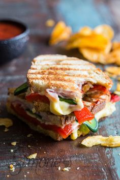 Deliciously grilled sandwich with jalapeno peppers | insimoneskitchen.com