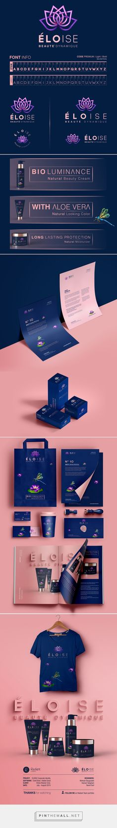 ELOISE Corporate Identity on Behance | Fivestar Branding – Design and Branding Agency & Inspiration Gallery