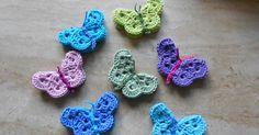 Crochet Diy, Easy Crochet Patterns, Crochet For Kids, Diy Papillon, Application Pattern, Chrochet, Crochet Projects, Diy And Crafts, Crochet Earrings