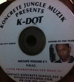 Kendrick Lamar – Hub City Threat, Minor of The Year (Y.N.I.C. Vol. 1)
