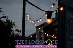 festoon lights hire in manchester