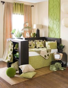 Nursery Decor Ideas for your Baby: Charming Modern Green White Cream Interior Nursery Decor Ideas ~ flohomedesign.com Baby Nursery Inspiration