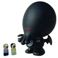 My Little #Cthulhu Vinyl Figure Previews Exclusive Dark Edition