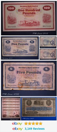 BANKNOTES items in store on eBay! #banknote #northernireland items in store on eBay! http://stores.ebay.co.uk/PM-Coin-Shop/Northern-Ireland-/_i.html?_fsub=13114821010&_sid=1083015530&_trksid=p4634.c0.m322