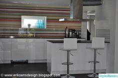 Mr perswall stripes över kök
