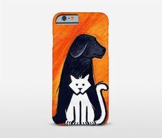 Pet Lover Gifts Animal Phone Case Illustration Art by Macrografiks