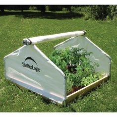 Backyard Raised Bed Greenhouse  Peak Style Garden Planting Seeds Starter  #Unspecified
