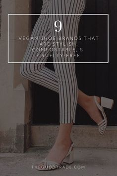 Cute, comfy, and vegan?! OK! // The Good Trade // #vegan #veganshoes #veganfootwear #animalfree #crueltyfree #cuteshoes Vegan Sneakers, Vegan Shoes, Chemical Free Makeup, Vintage Inspired Shoes, Clean Beauty, Beauty Tips, Leather Industry, Best Trade, Clean Makeup