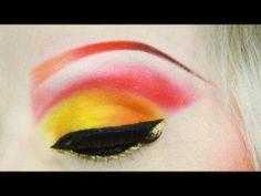 Halloween Makeup: Demon Queen of The Flame tutorial