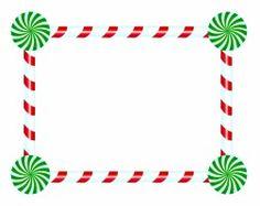 candy cane clip art borders google search christmas clip art rh pinterest com Candy Cane Frame candy cane clipart border