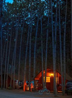 Hayward KOA in Wisconsin—one of our 24 favorite Midwest campgrounds! The full list: http://www.midwestliving.com/campgrounds/