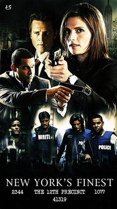 I totally recommend Castle. Never enjoyed a cop show as much as I do on this one.
