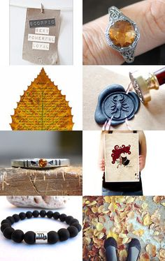 for you, scorpio - an etsy treasury by www.branded.etsy.com