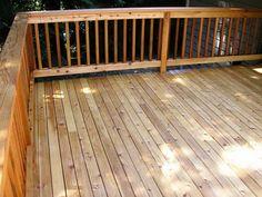 Cedar Deck Railing Vinyl Deck Railing' Wooden Decks' Deck Railing ...