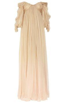 Custom Made Ancient Greece Wedding Dress made of Silk by LAmei
