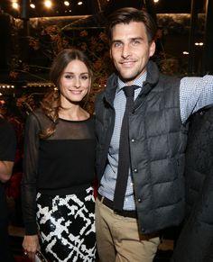 Olivia Palermo et Johannes Huebl -blusa