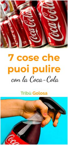 Coca Cola, Cleaners Homemade, Cannoli, Home Remedies, Food And Drink, Cleaning, Cool Stuff, Hoe, Hipster Stuff