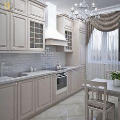 Kitchen Renovation Design, Kitchen Room Design, Home Room Design, Modern Kitchen Design, Home Decor Kitchen, Interior Design Kitchen, Luxury Kitchens, Home Kitchens, Tall Kitchen Cabinets