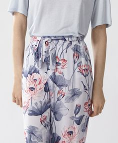 Floral trousers - New In - PYJAMAS | Oysho