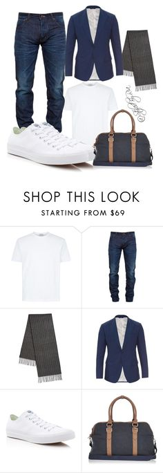 """""""Go daddy"""" by stylebyria ❤ liked on Polyvore featuring Snake & Dagger, BLACK BROWN 1826, Dolce&Gabbana, Converse, River Island, mens, men, men's wear, mens wear and male"""