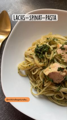 Salmon Recipes, Pasta Recipes, Clean Eating Recipes, Healthy Recipes, Spaghetti, One Pot Pasta, Grilled Veggies, Quick Meals, Soul Food
