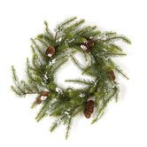 Found it at Wayfair - Pine Snow Wreath