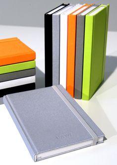 Notizbücher für Loewe mit TV Lautsprecher Bespannstoff in 6 Farben